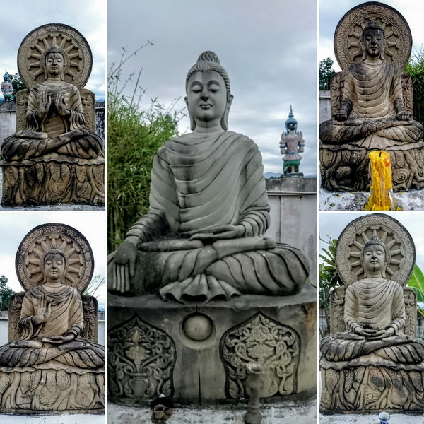 Mirrar.me Each buddha has a specific hand gesture called mudra and has his own deeper meaning symbolism